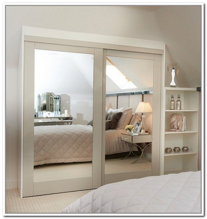 mirrored closet doors 25+ best closet door ideas that won the internet [stylish design] JBDRAAN